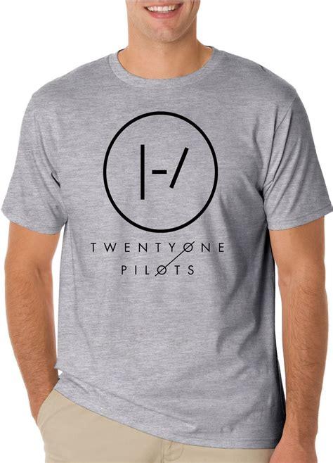 Twenty One Pilots Stay T Shirt Soft Cotton Combed Segala Warna twenty one pilots t shirt on light sleeve and t shirts
