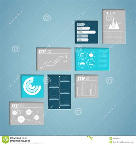 layout design in illustrator infographic text box inner shadows stock vector image