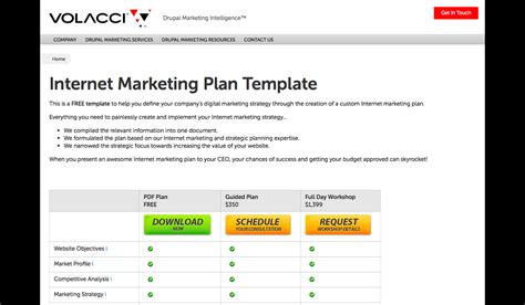 8 marketing plan templates to blow your competitors out of