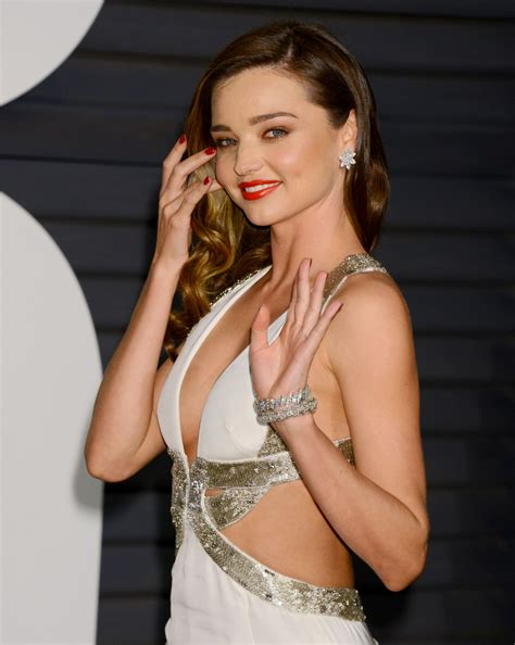 miranda kerr at vanity fair oscar in