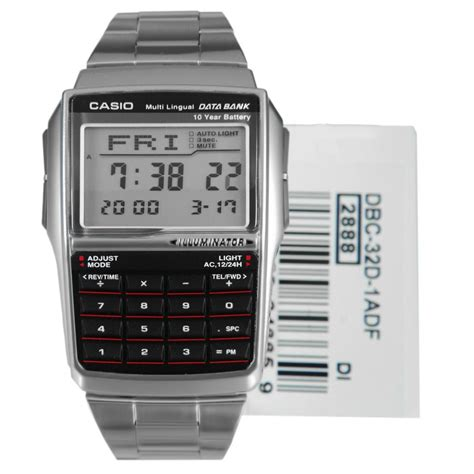Casio Databank Dbc 32d 1a Dbc32d Original Bergaransi casio data bank calculator mens telememo dbc32d 1a dbc 32d 1 ebay