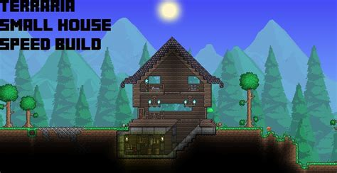 how to build a house in terraria terraria boreal small house speed build youtube