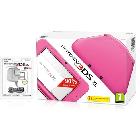 nintendo ds pink console nintendo 3ds xl pink nintendo official uk store