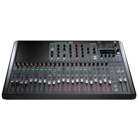 Harga Compact Chanel jual soundcraft si compact 24 channel digital mixer