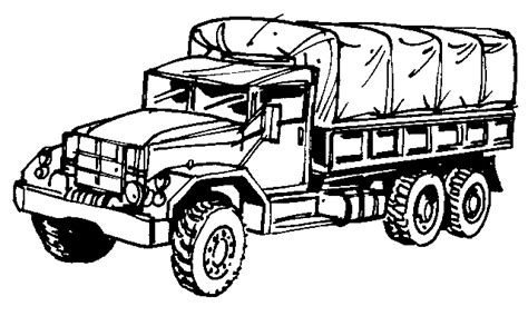 coloring pages of army trucks pin army truck colouring pages on pinterest
