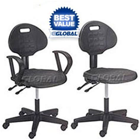 global industrial office chairs chairs polyurethane interion puncture proof