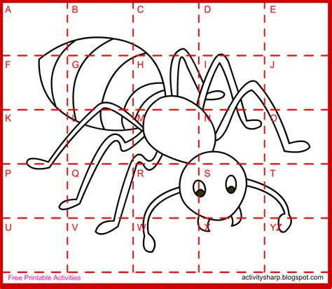 drawing activities free printable drawing activity ant drawing activities