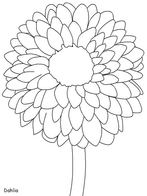 coloring pages of mexican flowers mexico dahlia countries coloring pages coloring book
