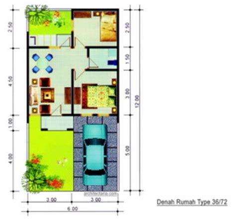 layout rumah islami desain rumah mungil type 36 pt architectaria media cipta