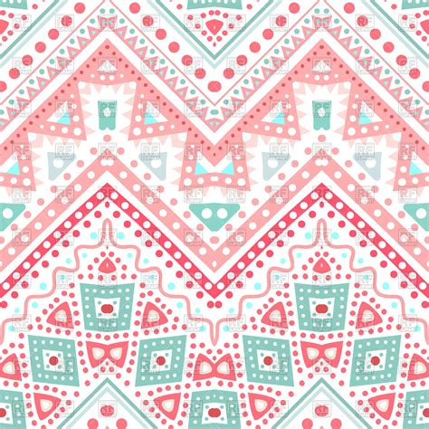 Tribal Pattern Zigzag | tribal ethnic zigzag seamless pink pattern royalty free