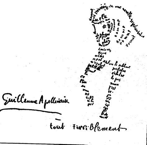 libro des troubadours apollinaire feria de libros de artistas caligramas guillaume apollinaire