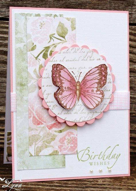 Handmade Die Cut Cards - 25 best ideas about pink cards on butterfly