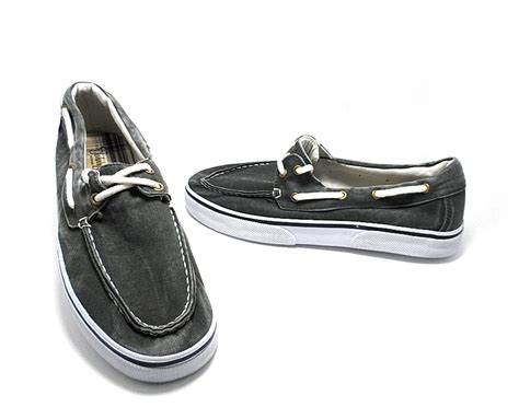 st john s bay boat shoes st john s bay men s inlet boat shoe gray size 8 nwob
