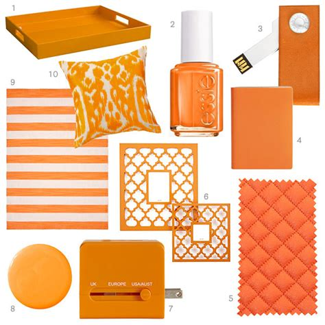 orange accessories tangerine home decor orange home accessories