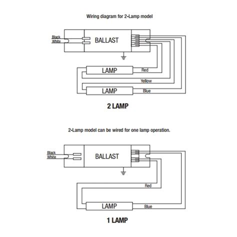 4 l rapid start ballast wiring diagram advance ballast