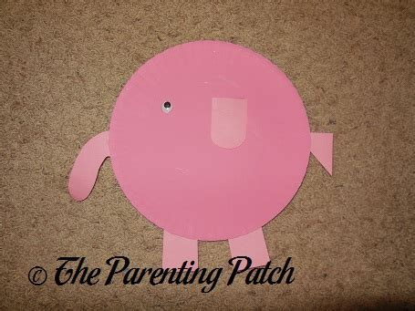 Paper Plate Elephant Craft - paper plate elephant craft parenting patch