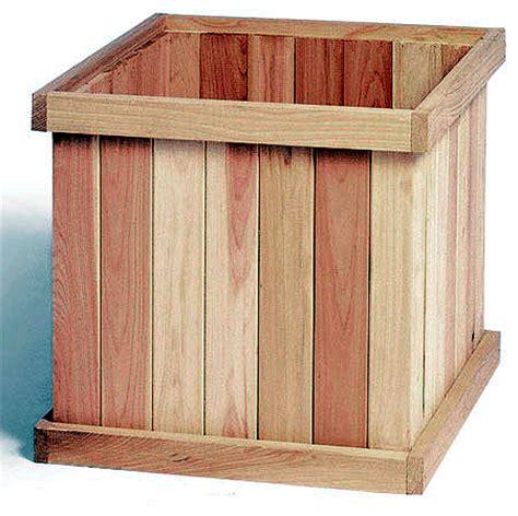 Cedar Planters Plans by Diy Planter Box Plans Cedar Plans Free