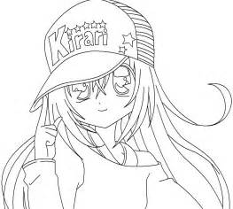 anime coloring books free anime coloring pages kirari gianfreda net