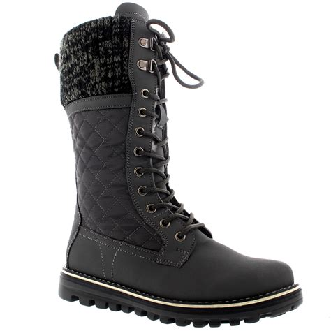 womens warm boots womens snow durable outdoor thermal winter warm waterproof