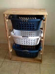white pallet laundry basket dresser by pallirondack