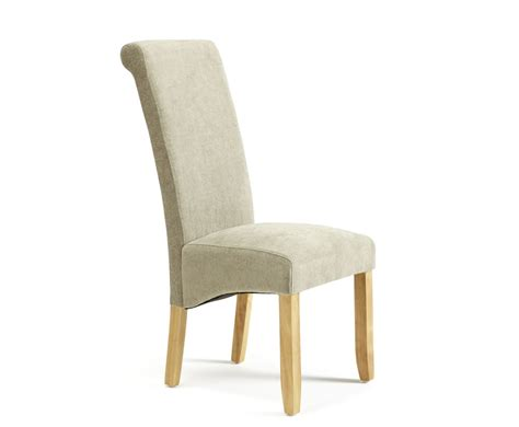 Fabric Oak Dining Chairs by Haycroft Fabric And Oak Dining Chairs Frances Hunt
