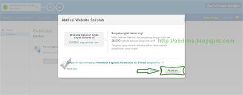 langkah membuat website gratis langkah membuat website sekolah madrasah gratis dengan
