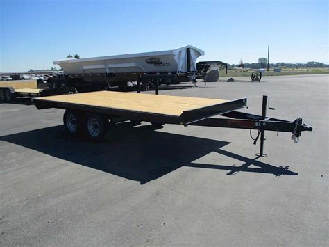 flat bed trailer 2016 tnt flatbed trailer for sale rigby id 8766503