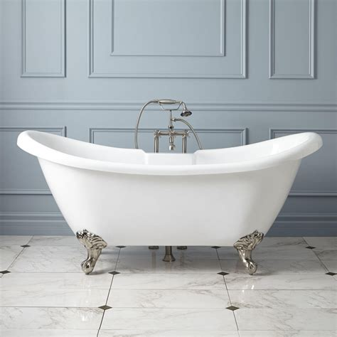 claw bathtubs rosalind acrylic clawfoot tub imperial feet clawfoot tubs bathtubs bathroom