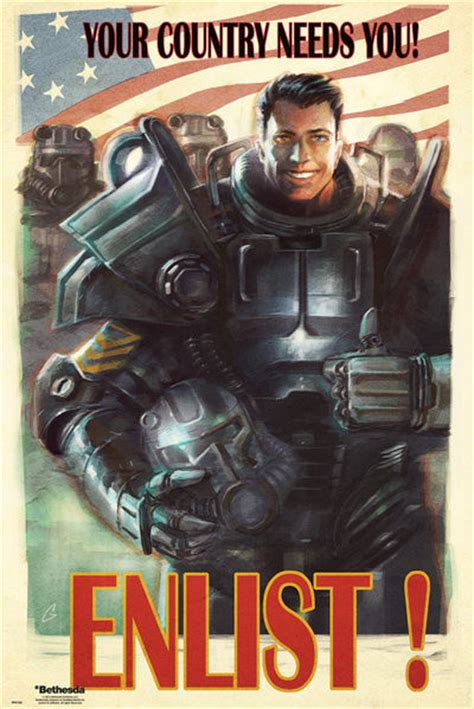Special For Loyal Ft Readers Save 10 The Fab Selection At Azalea But Act Fast As The Offer Ends Sunday At Midnight 1112 Fashiontribes Fashion by Fallout 4 Enlist Poster Sold At Europosters