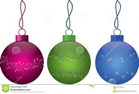 multi colored christmas balls royalty free stock images