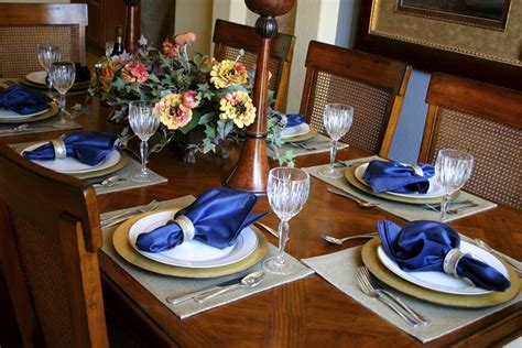 dining room table placemats 44 fancy table setting ideas for dinner parties and holidays