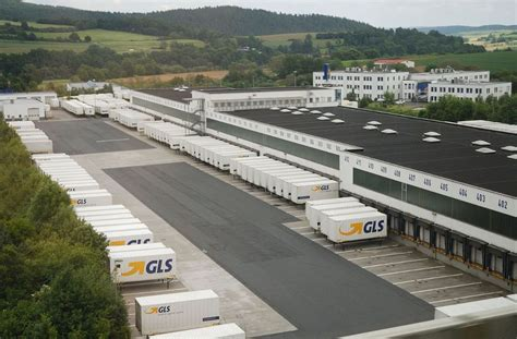 sedi sda roma view of gls depot 64 in neuen polyone gls