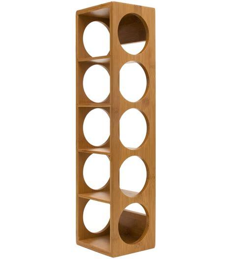 stackable wine rack bamboo in wine racks