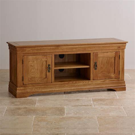 orrick rustic oak tv cabinet french farmhouse tv cabinet in solid oak oak furniture land