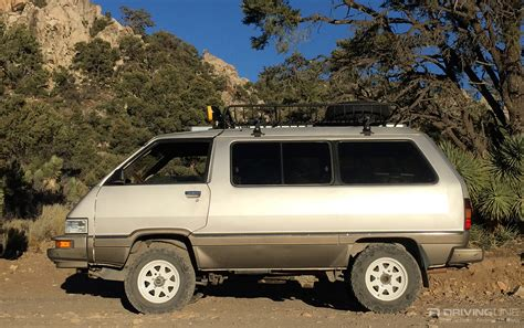 toyota minivan the van that can a 4x4 toyota van built for the rocks