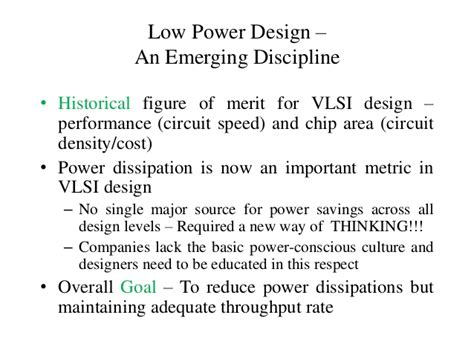 vlsi circuits for emerging applications devices circuits and systems books low power vlsi design ppt