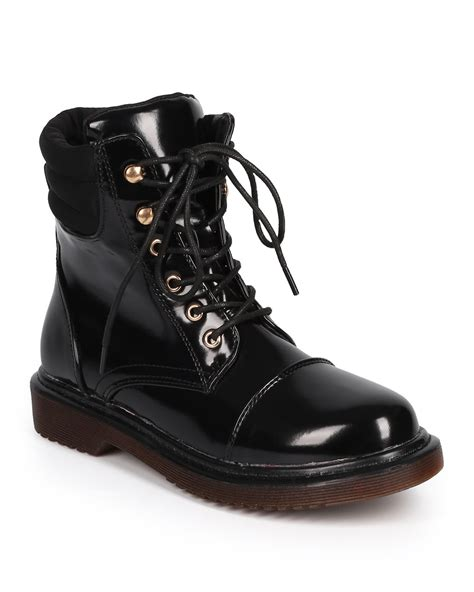 08 22 77 61 59 59 Nomor Cantik Simpati Loop 082277615959 shoes dbdk dk77 polished leatherette toe ribbed combat boot