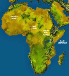 Topographic Map Of Africa by Africa Map Map Of Africa Facts Geography History Of