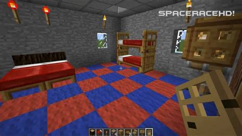 how to make bedroom in minecraft minecraft how to make a bedroom youtube