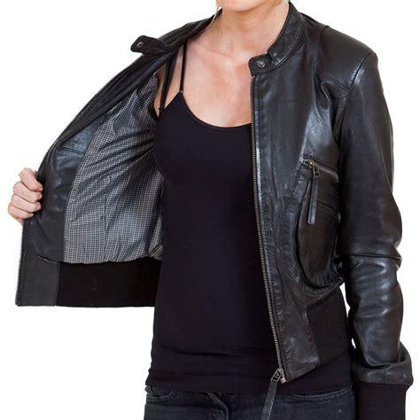 black leather womens s black leather bomber jacket leather jackets usa