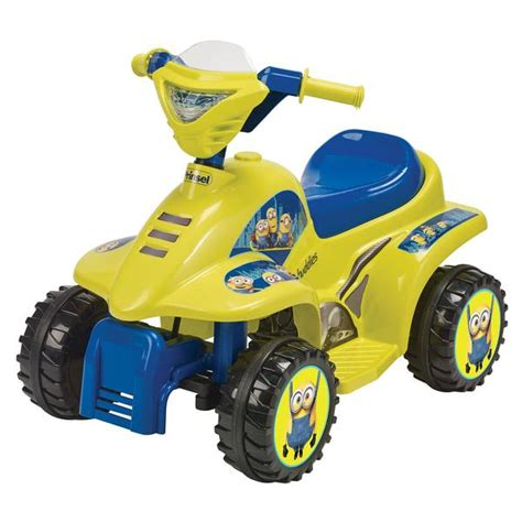 moto electrica mini quad minions  prinsel