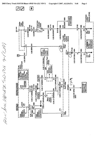03 chevy trailblazer fuse box led resistor wiring diagram honda civic dx fuse diagram for 95 2001 s10 4x4 4wd unit not working tech support forum