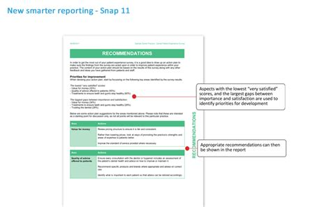 Survey Software - analysis reporting capabilities in snap 11 survey software