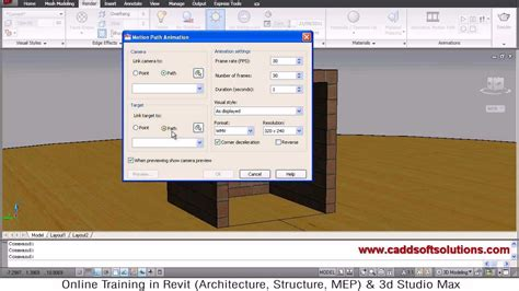 autocad walkthrough tutorial autocad 3d animation walkthrough tutorial autocad 2010