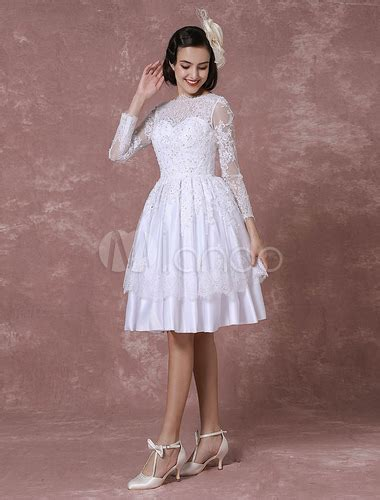 kurzes hochzeitskleid spitze kurzes hochzeitskleid vintage brautkleid spitze applique