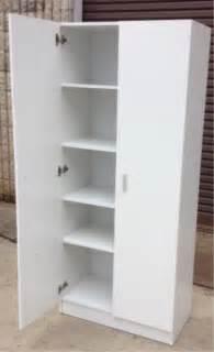 new two door pantry linen storage cupboard shelf