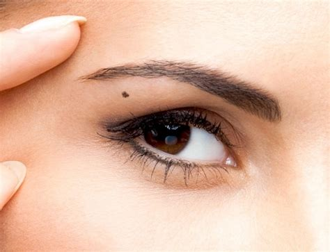 actress with mole below eye see if you have moles in these 7 spots they reveal a lot