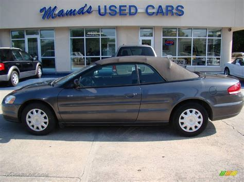 Chrysler Sebring Convertible 2005 by 2005 Graphite Metallic Chrysler Sebring Convertible