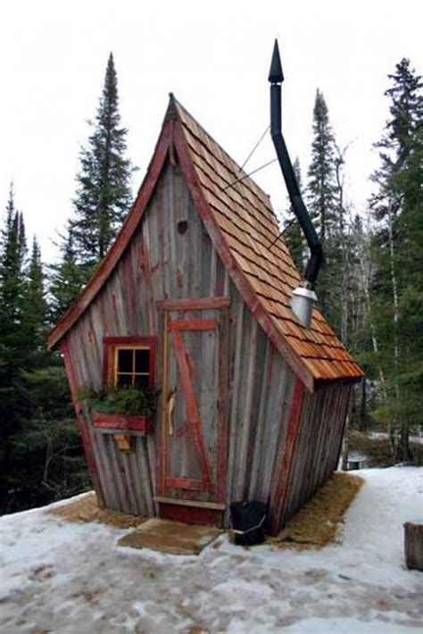 whimsical house plans the rustic way whimsical huts built with reclaimed wood