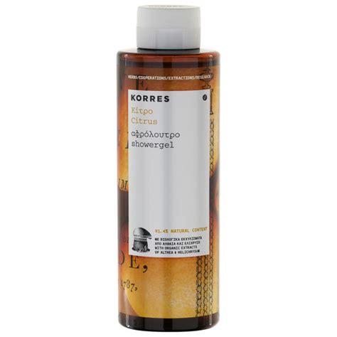 Korres Shower Gel by Korres Citrus Shower Gel 250ml Health Thehut